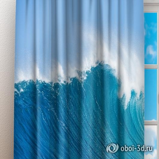 Фотошторы «Море» вид 3