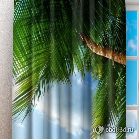 Фотошторы «Пляж» вид 3