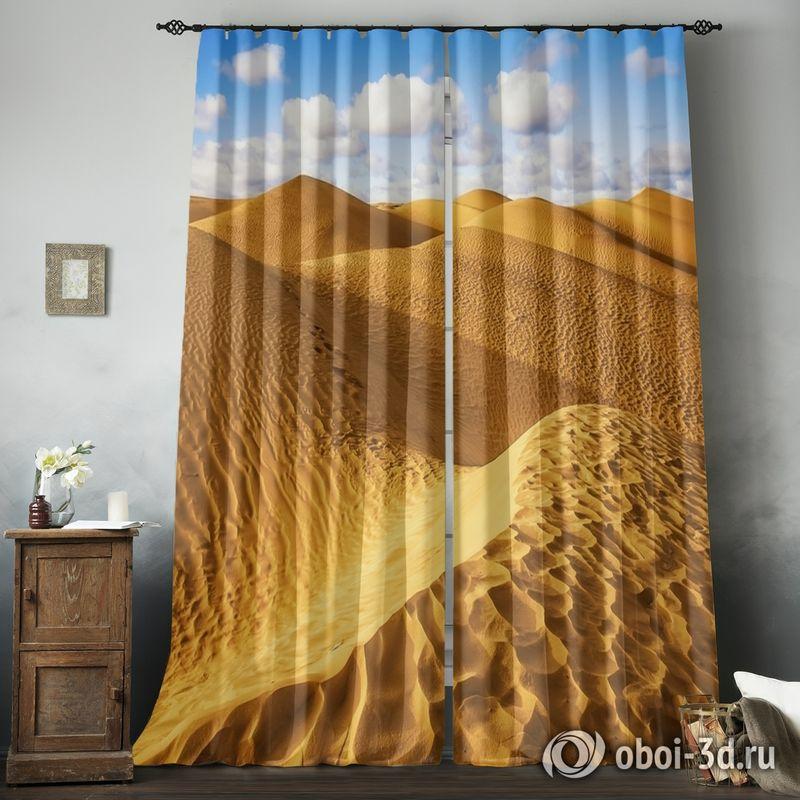 Фотошторы «Пески пустыни» вид 8