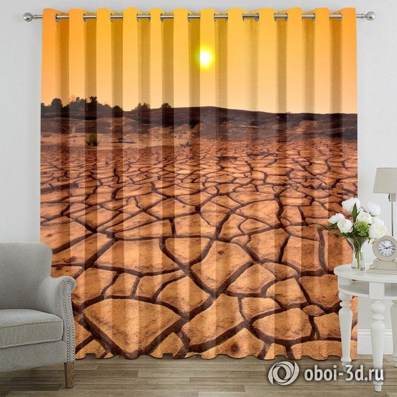 Фотошторы «Засушливая пустыня» вид 7
