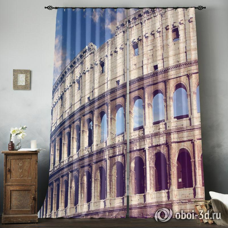 Фотошторы «Колизей» вид 8
