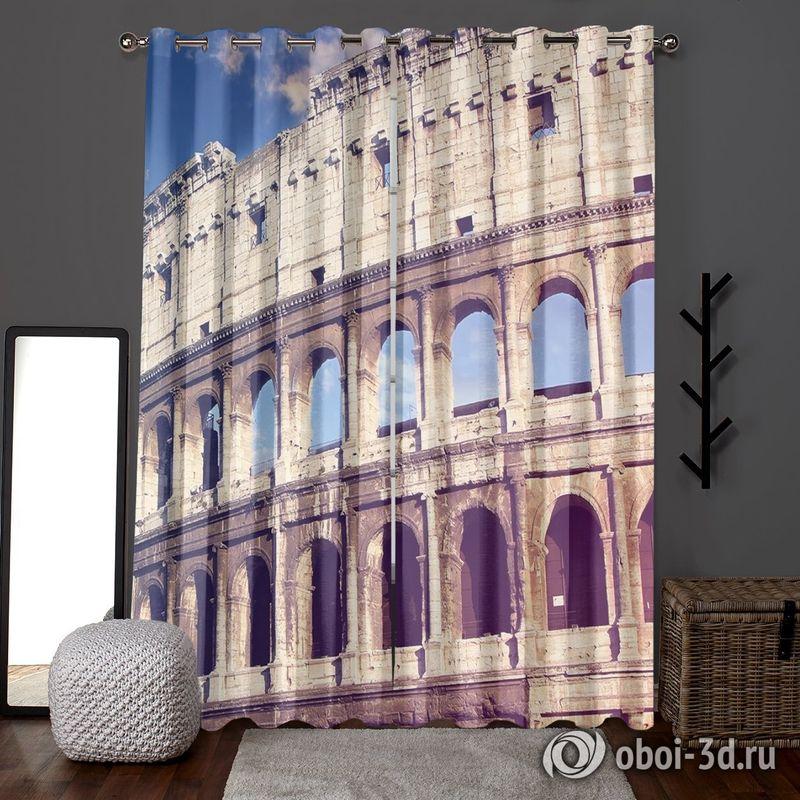 Фотошторы «Колизей» вид 6