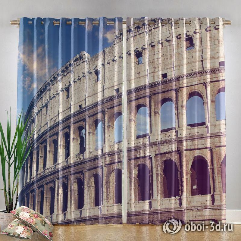 Фотошторы «Колизей» вид 4