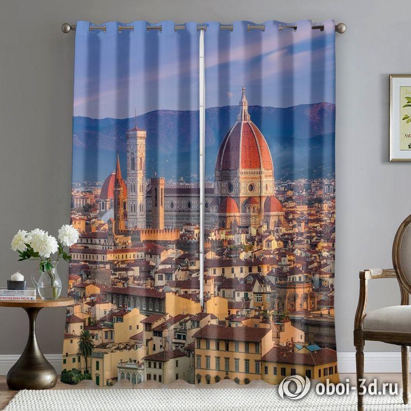 Фотошторы «Итальянский собор» вид 5