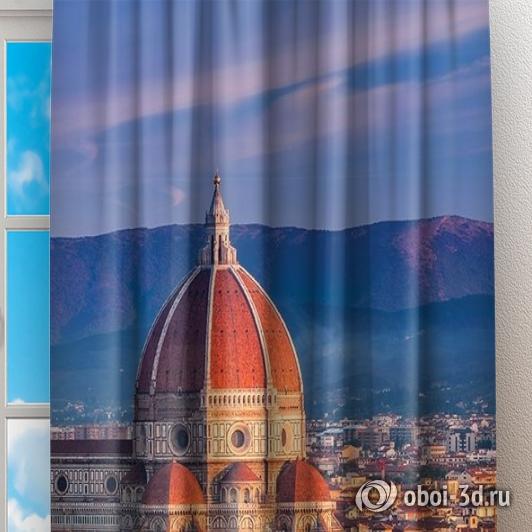 Фотошторы «Итальянский собор» вид 2