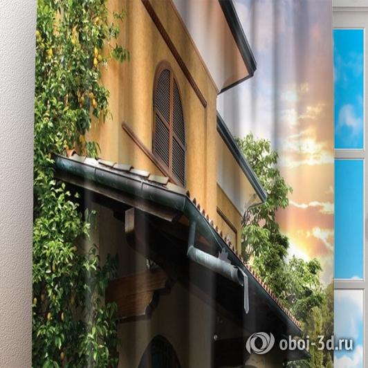 Фотошторы «Усадьба винодела» вид 3