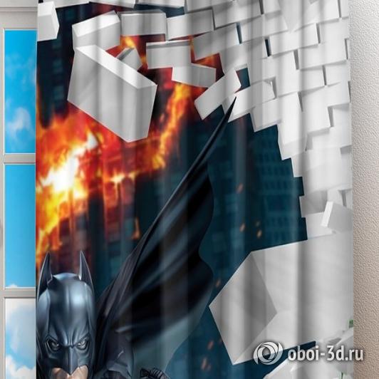 Фотошторы «Бэтмен» вид 2