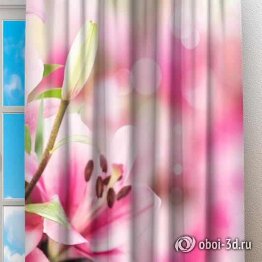 Фотошторы «Букет из лилий» вид 2