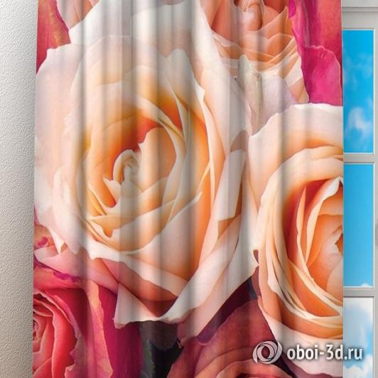 Фотошторы «Ассорти из роз» вид 3