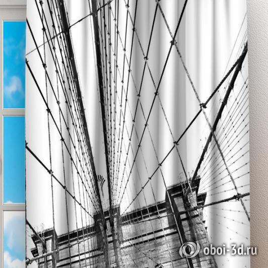 Фотошторы «Мост Нью-Йорка» вид 2