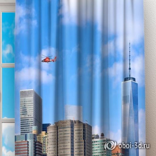 Фотошторы «Набережная Нью-Йорка» вид 2