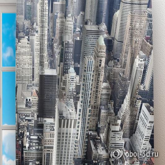 Фотошторы «Вид на Нью-Йорк» вид 2
