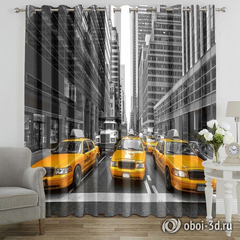 Фотошторы «Такси Нью-Йорка» вид 7