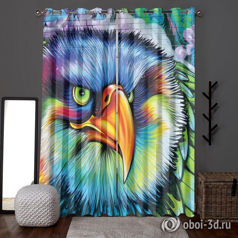 Фотошторы «Хищный орел» вид 6
