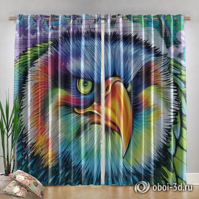 Фотошторы «Хищный орел» вид 4