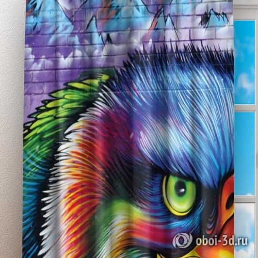 Фотошторы «Хищный орел» вид 3