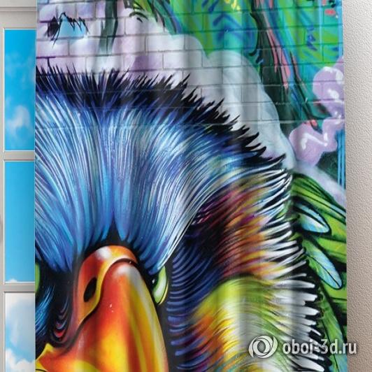 Фотошторы «Хищный орел» вид 2