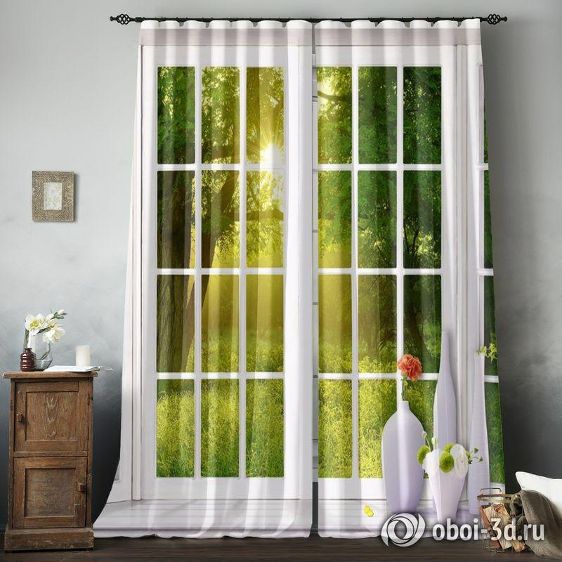 Фотошторы «Панорамное окно» вид 8