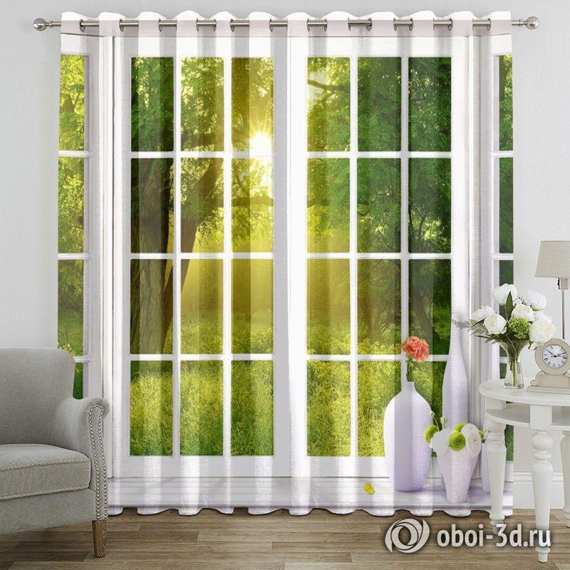 Фотошторы «Панорамное окно» вид 7