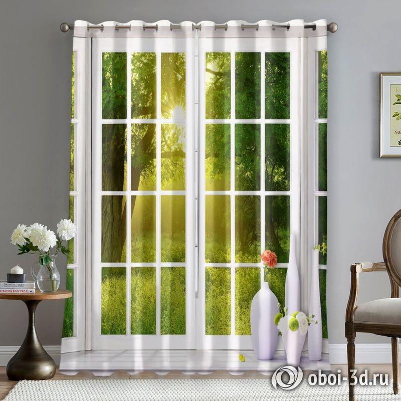 Фотошторы «Панорамное окно» вид 5