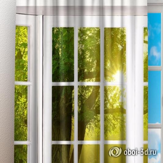 Фотошторы «Панорамное окно» вид 3