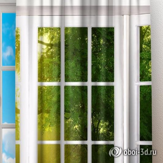 Фотошторы «Панорамное окно» вид 2