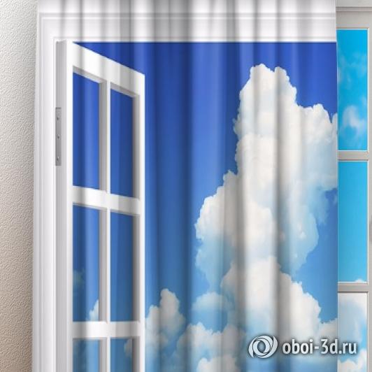Фотошторы «Распахнутое в море окно» вид 3