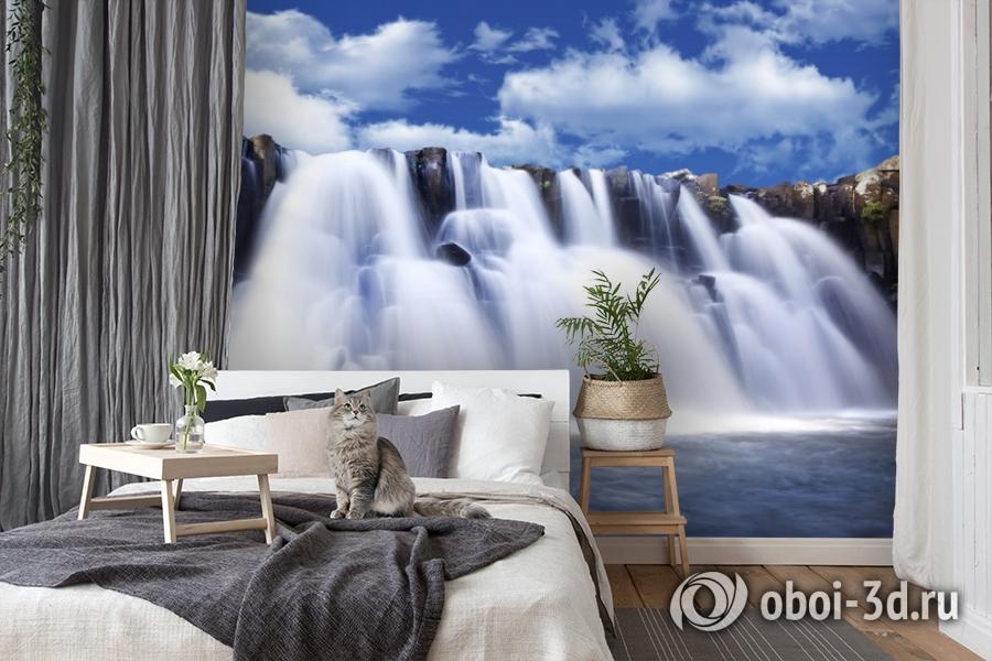 3D Фотообои  «Водопад»  вид 7