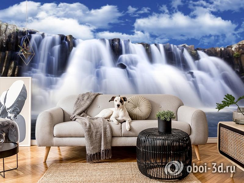 3D Фотообои  «Водопад»  вид 5