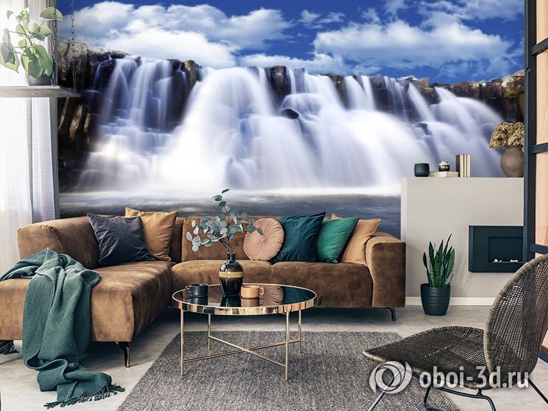 3D Фотообои  «Водопад»  вид 2
