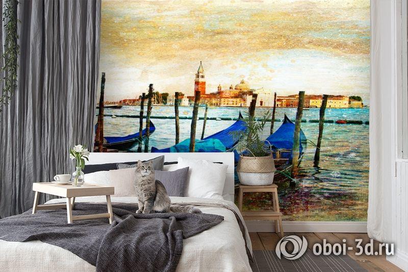 3D Фотообои  «Фреска Венеция» вид 7