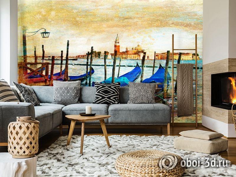 3D Фотообои  «Фреска Венеция» вид 5