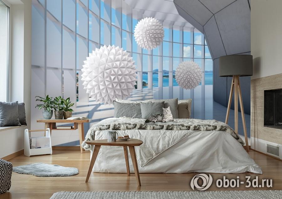 3D Фотообои «Фантастическая терраса» вид 7