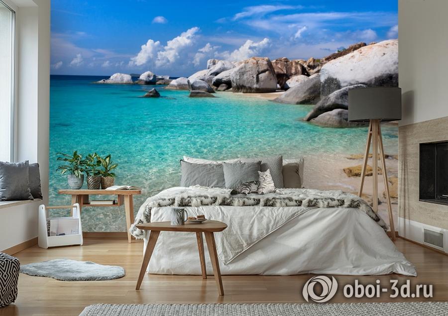 3D Фотообои  «Карибы» вид 6