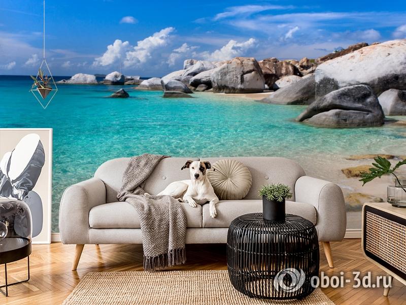 3D Фотообои  «Карибы» вид 5
