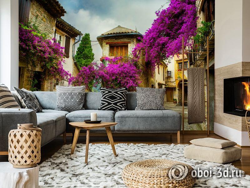 3D Фотообои  «Старая улочка»  вид 11