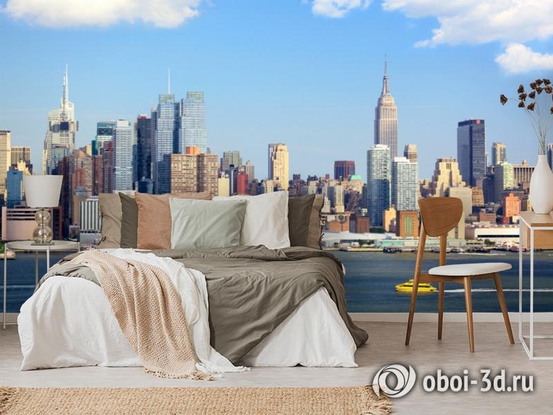 3D Фотообои  «С видом Нью-Йорка»  вид 6