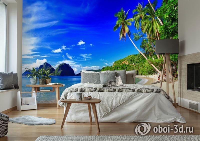 3D Фотообои  «Море панорама»  вид 6
