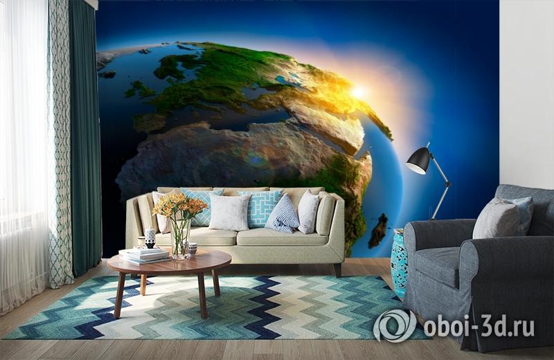 3D Фотообои  «Земля»  вид 6