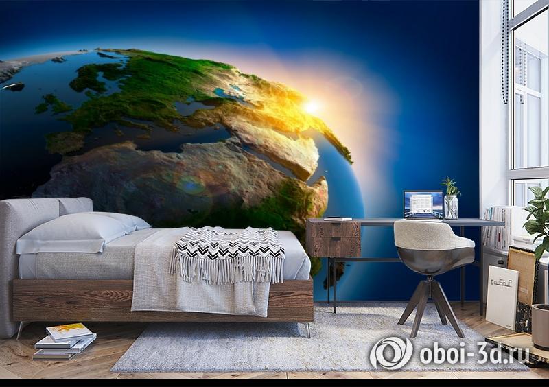 3D Фотообои  «Земля»  вид 5