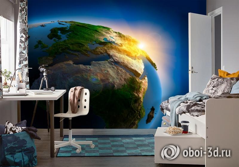 3D Фотообои  «Земля»  вид 4