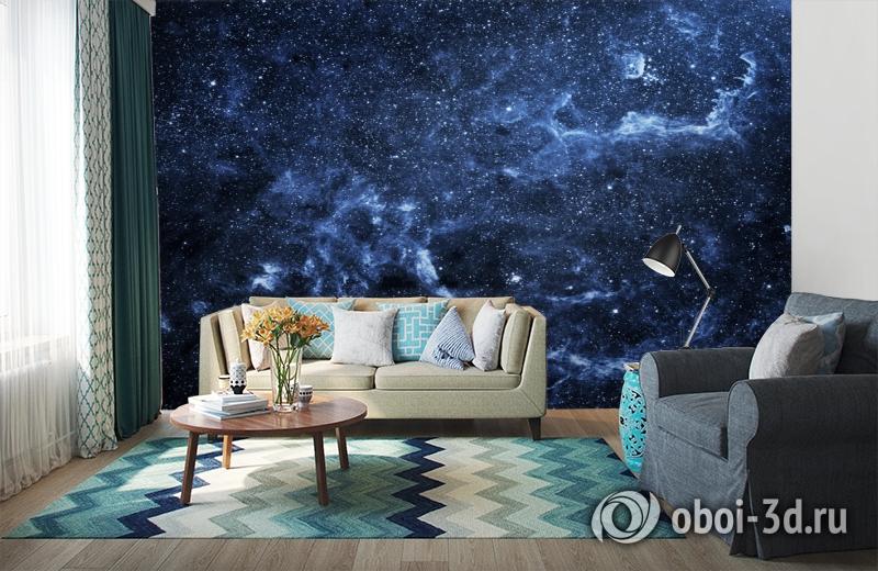 3D Фотообои  «Ночное небо»  вид 6