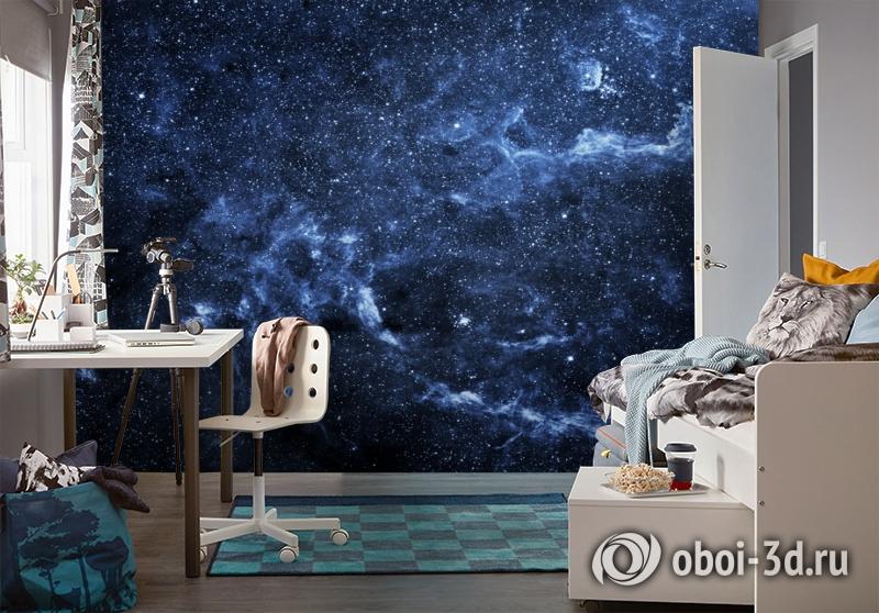 3D Фотообои  «Ночное небо»  вид 4