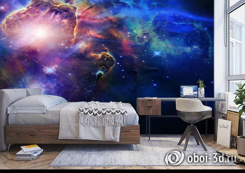 3D Фотообои  «Космическая одиссея»  вид 5