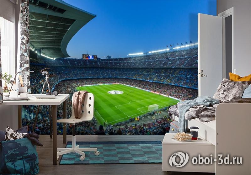 3D Фотообои  «Стадион»  вид 4
