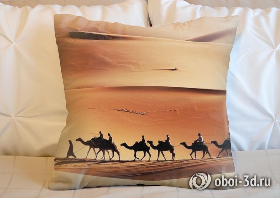3D Подушка «Пустыня караван» вид 6