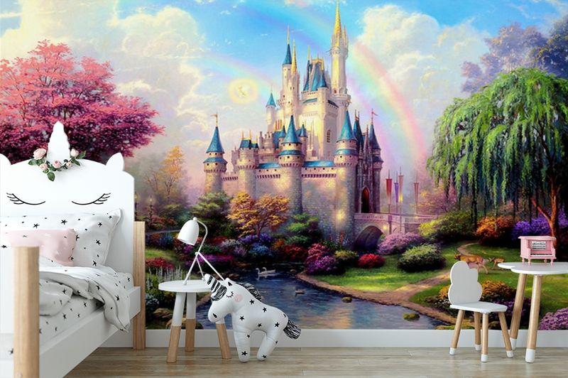 3D Фотообои «Замок для детской» вид 4