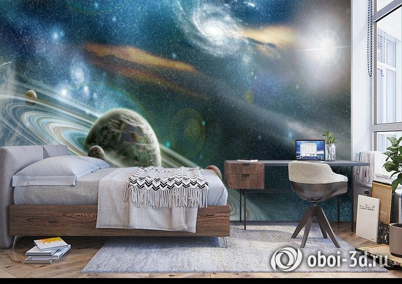 3D Фотообои  «Космический пейзаж»  вид 5
