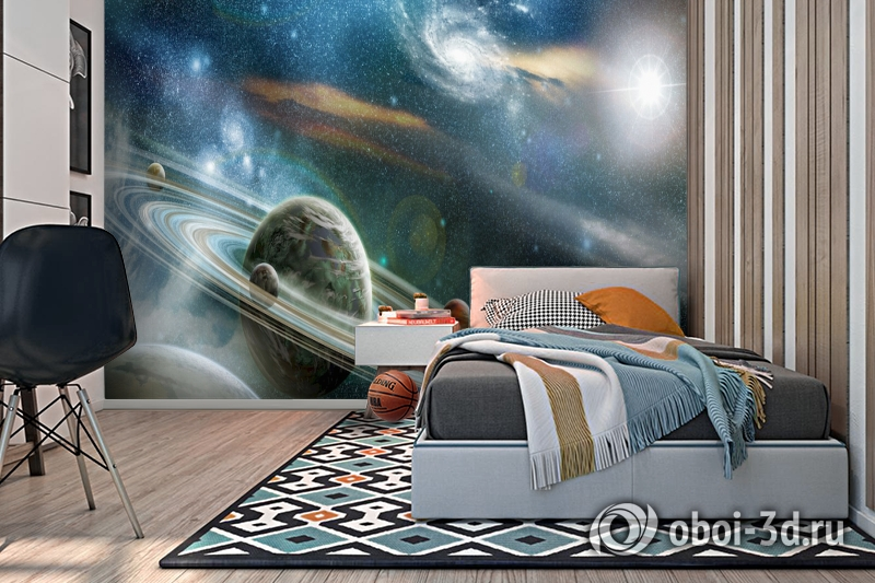 3D Фотообои  «Космический пейзаж»  вид 2