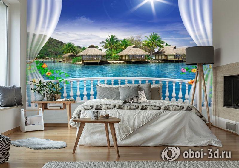 3D Фотообои  «Вид с террасы Таиланд»  вид 6